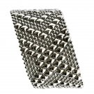 SG Liquid Metal Silver Mesh Cuff Bracelet by Sergio Gutierrez B44 / All SIZES