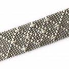 SG Liquid Metal Silver Mesh Cuff Bracelet by Sergio Gutierrez B10Z / All SIZES