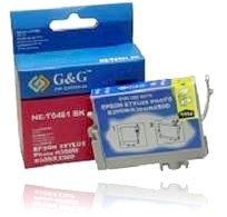 G&G Black Ink Cartridge for Epson Stylus Photo R200 R300 R300M R320 RX500 RX600 RX620