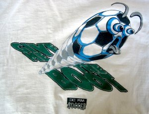Give Me The Boot White Soccer T-Shirt XL by I Am Soccer