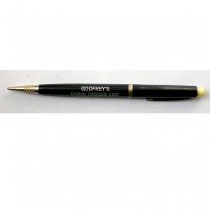 Vintage Mechanical Pencil Black, Godfrey's Automatic Transmission Service