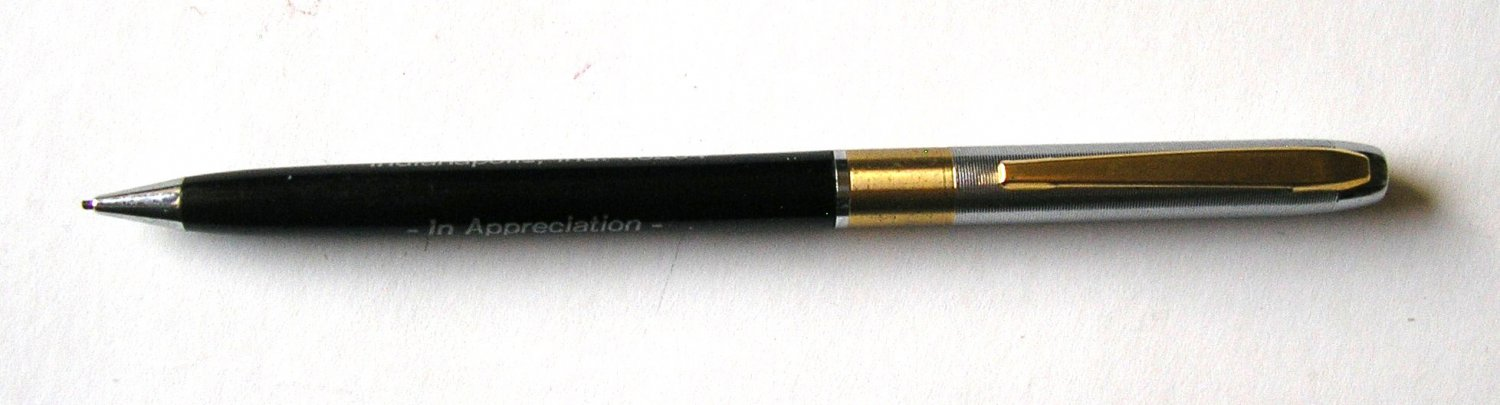 Vintage Mechanical Pencil with Phil-Mar Investment Co, Indianapolis Advertising