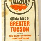 Greater Tucson Arizona Street Map 1970 (Champion/Chamber of Commerce)