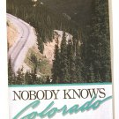 Colorado Road Map 1990 (Rand McNally/Best Western)