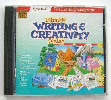 The Learning Company Ultimate Writing & Creativity Center v1 (1998) CD-ROM