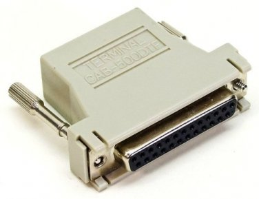 Cisco CAB-500DTF RJ45-DB25F Console Port to ASCII Terminal Adapter