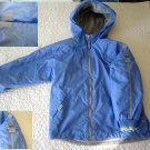 Spring/Fall Zero Posur girls Jacket with 4 Velcro Pockets 6X