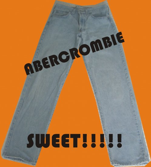 Abercrombie & Fitch Womens 5 pocket Jeans Size 4