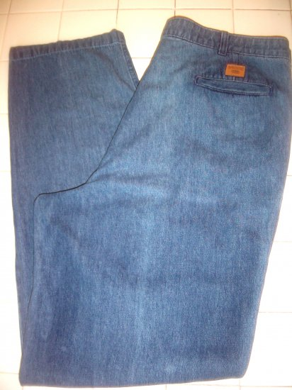 Savane 38x34 mens pleated jeans 38 x 34  NICE!