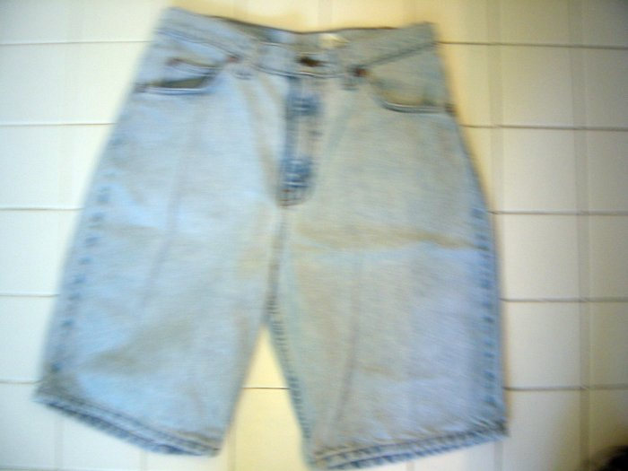 Levis 550 Relaxed Fit mens Levi Jean Shorts 30 VERY NICE!!