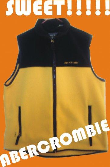 Abercrombie Fleece Vest L - Womens Juniors