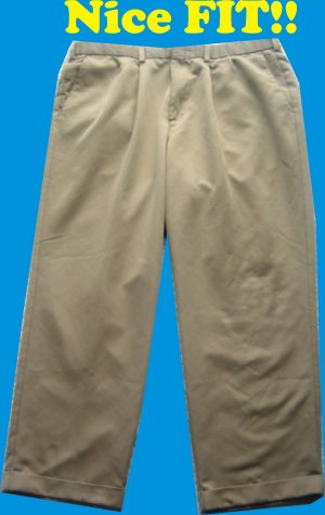Levis Dockers Golf 38 x 30 Mens Pants Slacks Trousers NICE!