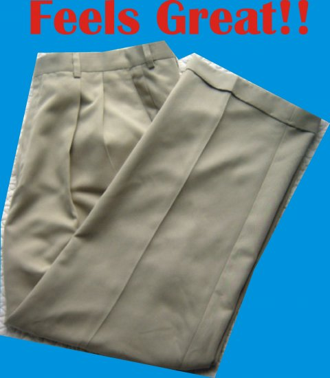 Haggar Collection Mens 38 x 29 Pants Slacks Trousers NICE!