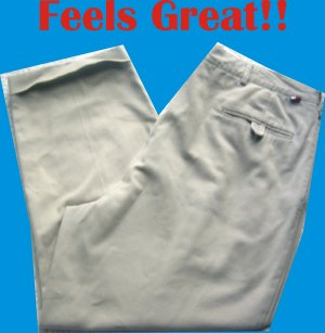Tommy Hilfiger 40 x 30 Mens Pants Slacks Trousers NICE!