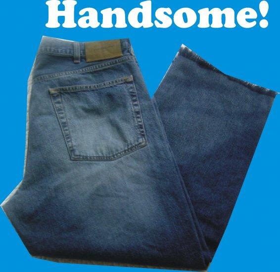 Calvin Klein Mens Straight Leg Jeans 36 x 32