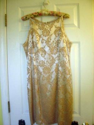 CDC Silky Paisley Womens Dress GORGEOUS! sz 10