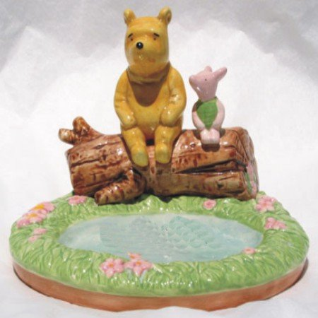 Winnie the Pooh and Piglet Collectable Ceramic Soap Holder