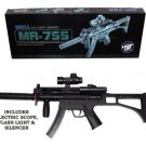 Airsoft Rifle w/ Blue Night Light