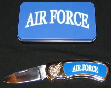 Air Force Knife in Metal Tin