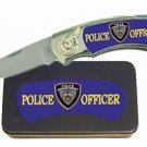 Police Knife in Metal Tin
