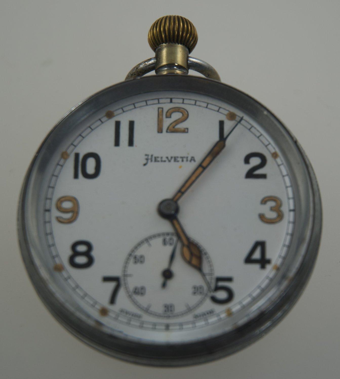 Helvetia Military Pocket Watch 1941