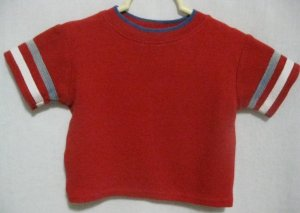Boy&#039;s Red Clifford Shirt - Size 18 months