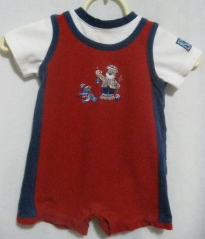 "Boy's ""Fishing"" Romper - Size 18 months"