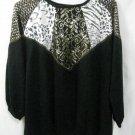 Women's Zebra Print Shirt - Size XL