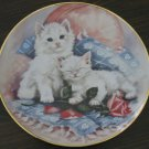 Purrfectly Precious Cat Plate by The Franklin Mint