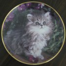 Purrfection Cat Plate by The Franklin Mint
