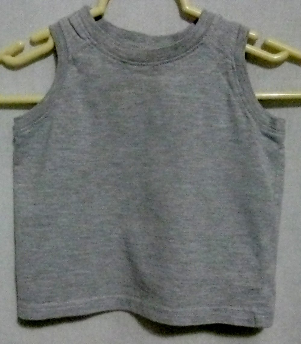 Boy's Gray Tank Top - Size 24 months