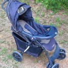 Navy and Tan Eddie Bauer Stroller