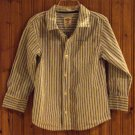 Old Navy Boys Striped  Long Sleeved Shirt