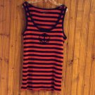 New York & Company Women's Skinny Rib Vest Top