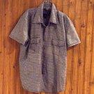 Quizz New York Boys Short Sleeved Buttoned Shirt