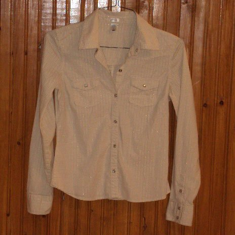 Old Navy Womens Stretch Shirt