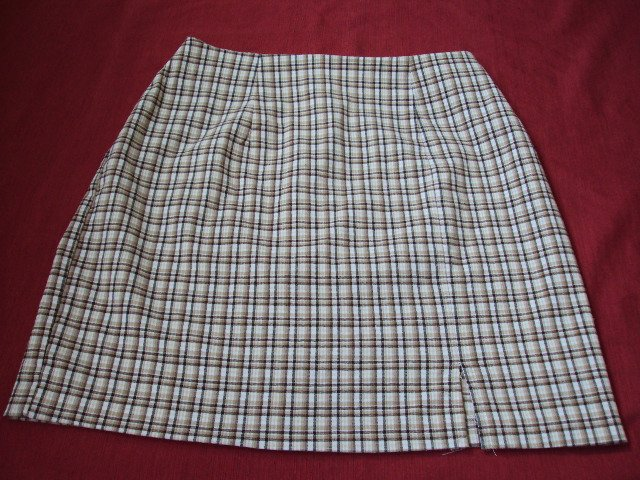 My Michelle Girls Plaid Pencil Skirt