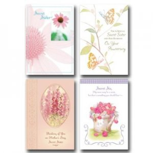 Secret Sister Greeting Cards