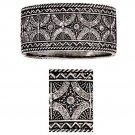 Cuff Plexiform Bracelet with Rhinestones