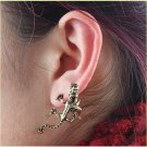 Bronze Dragon Stud Earring
