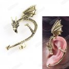Temptation Fly Dragon Ear  Cuff