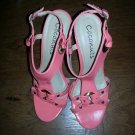 BNWT ~ Coconut Strappy Sandals, Coral, Size 7