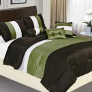 8 PC Luxury King Comforter Set