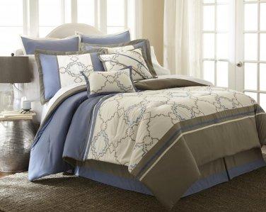 8 Piece King Comforter Set