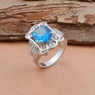BNWOT ~ Aquamarine Ring, Size 8