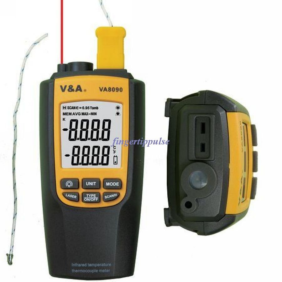 Infrared temperature & K type thermocouple meter VA8090