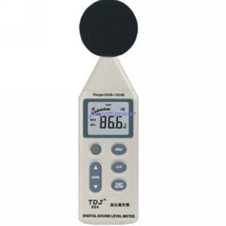 Digital Sound Noise Level Meter 30-130dB USB Case SL824