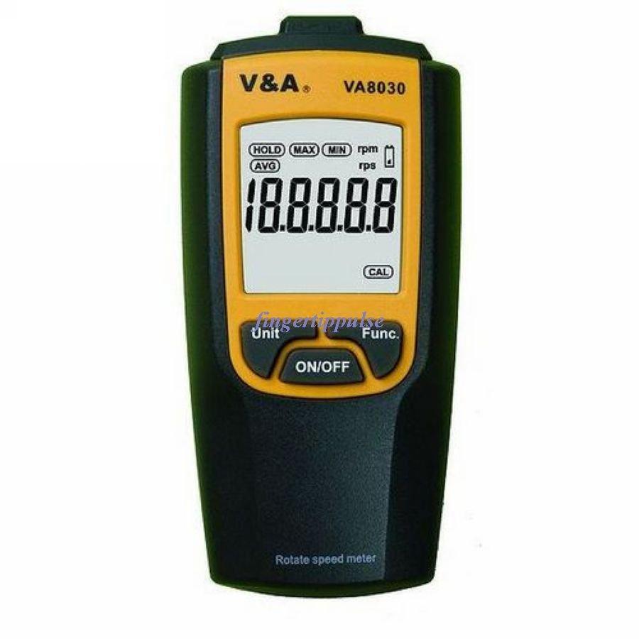 Non Contact Digital Tachometer rpm & rps VA8030