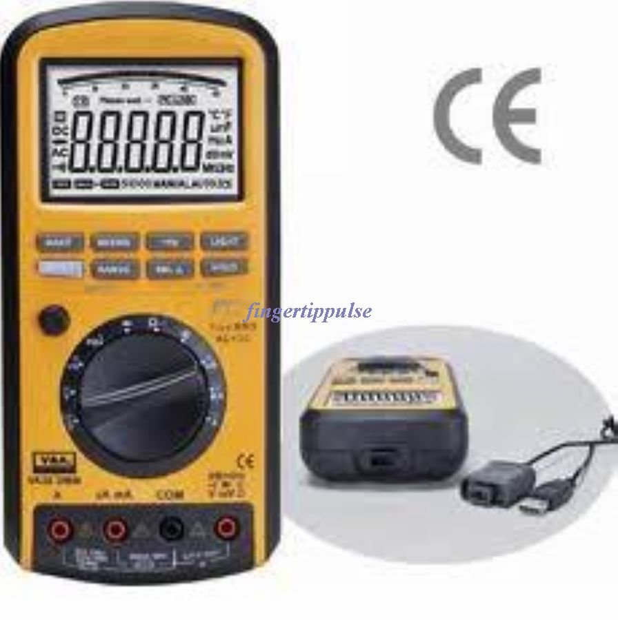 Diode Multimeter USB VA38 50K Counts DC AC Ω μF MHz KH