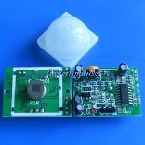 5pcs HC-SR501 Human Sensor Pyroelectric Infrared Module
